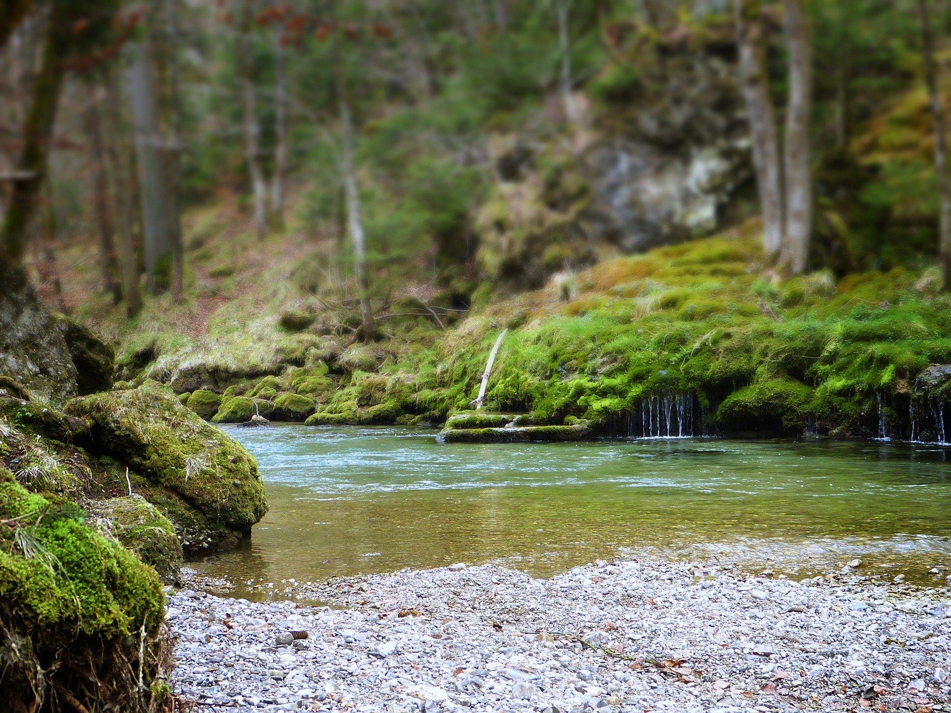 riviere calme respirer
